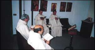 i monaci in coro