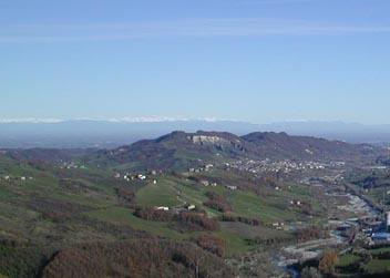Panorama dal monastero